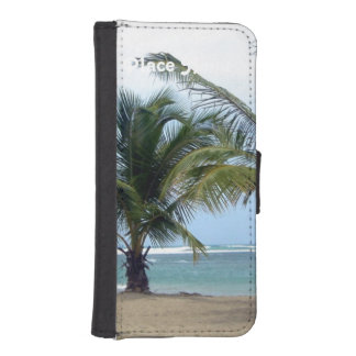 Beach in Dominican Republic iPhone 5 Wallet Cases
