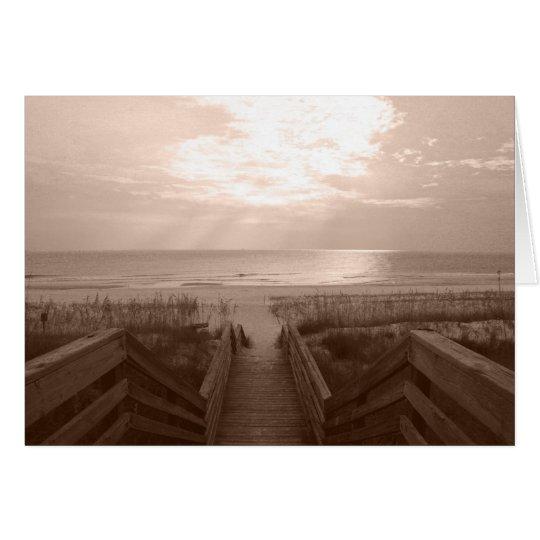 Beach in Florida Card