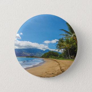 Beach in Hawaii Button