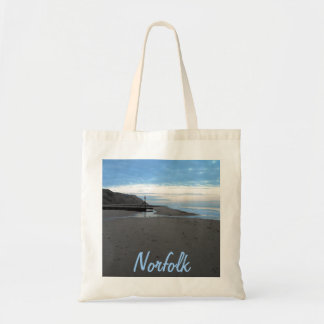 Beach in Mundesley, Norfolk by Alexandra Cook Tote Bag