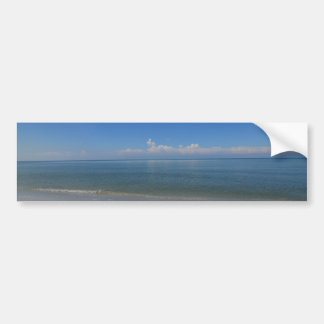 Beach in Naples Bumper Sticker