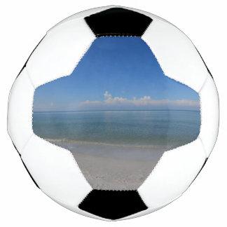 Beach in Naples Soccer Ball