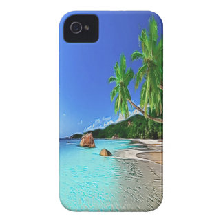 Beach in paradise iPhone 4 cover