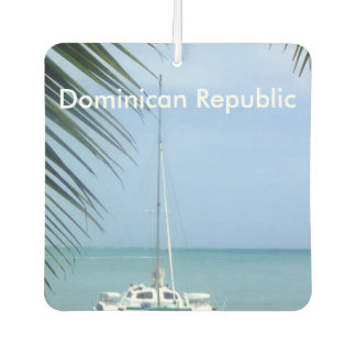 Beach in the Dominican Air Freshener