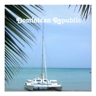 Beach in the Dominican Card