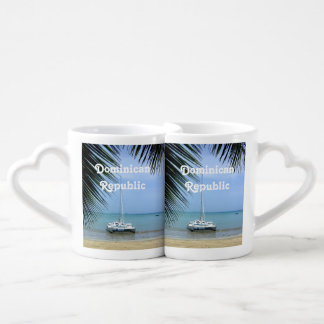 Beach in the Dominican Coffee Mug Set