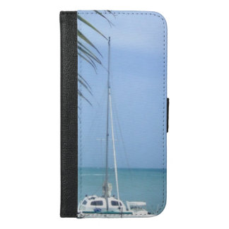 Beach in the Dominican iPhone 6/6s Plus Wallet Case