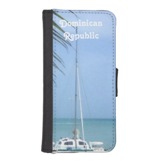 Beach in the Dominican iPhone SE/5/5s Wallet