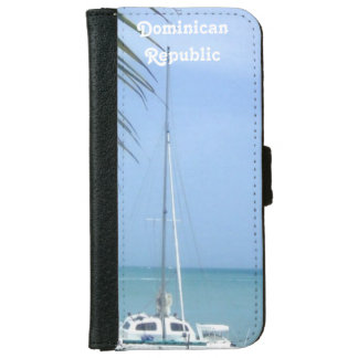 Beach in the Dominican Wallet Phone Case For iPhone 6/6s