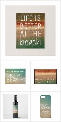 Beach Inspired Products