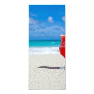 Beach 4x9.25 Paper Invitation Card