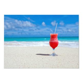 Beach 5x7 Paper Invitation Card