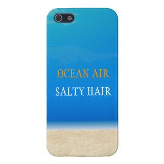 Beach Iphone Cover - Ocean Air Salty Hair Covers For iPhone 5