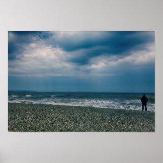 Beach / Ireland Poster