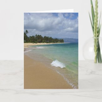 Beach Island card