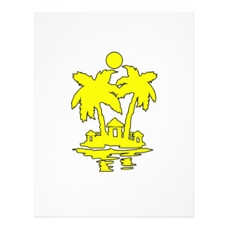beach island houses yellow outline invert.png custom flyer