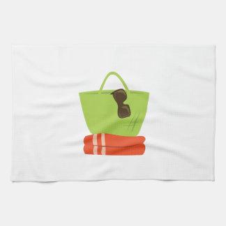 Beach Items Hand Towels