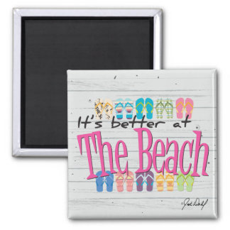 Beach - It's better at the Beach Magnet