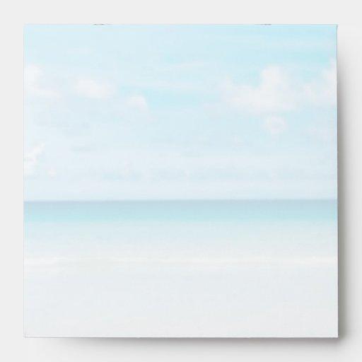 Beach Jewel stones Starfish Envelope
