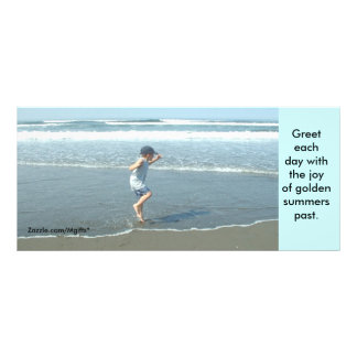 Beach Joy Rack Card