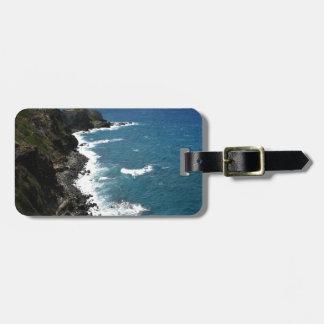 Beach Kapalua Coastline Bag Tag