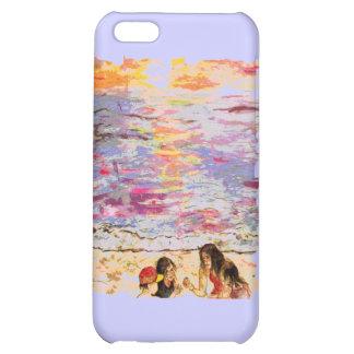 beach kids iPhone 5C case