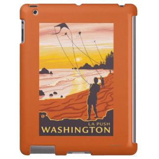 Beach & Kites - La Push, Washington
