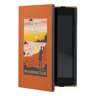 Beach & Kites - La Push, Washington Case For iPad Mini