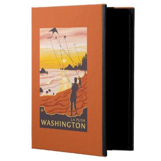 Beach & Kites - La Push, Washington Case For iPad Air