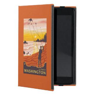 Beach & Kites - La Push, Washington Cases For iPad Mini