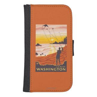 Beach & Kites - La Push, Washington Phone Wallets