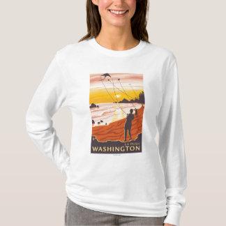 Beach & Kites - La Push, Washington T-Shirt