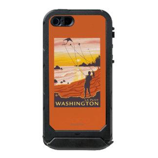 Beach & Kites - La Push, Washington Waterproof iPhone SE/5/5s Case