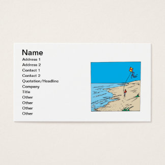 Beach Kiting Business Card