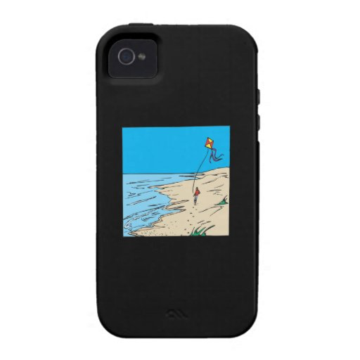 Beach Kiting iPhone 4 Cover