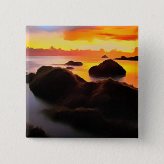 Beach Landscape at sunrise Button