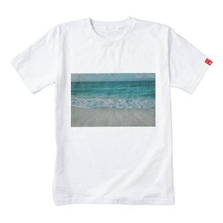 Beach landscape zazzle HEART T-Shirt