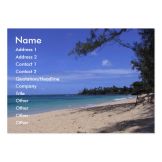 Beach Large Business Cards (Pack Of 100)