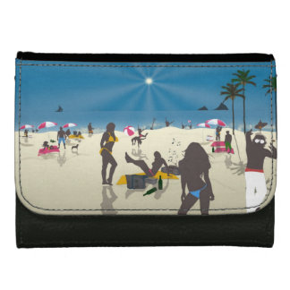 Beach Leather Wallet