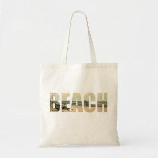 beach letters bag