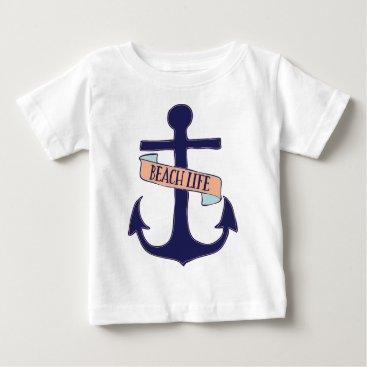 Beach Themed Beach Life Baby T-Shirt