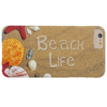 Beach Themed Beach Life Barely There iPhone 6 Plus Case