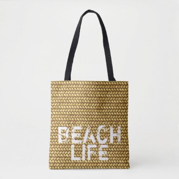"Beach Themed ""Beach Life"" carry-all holiday bag"