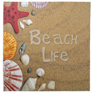 Beach Themed Beach Life Cloth Napkin