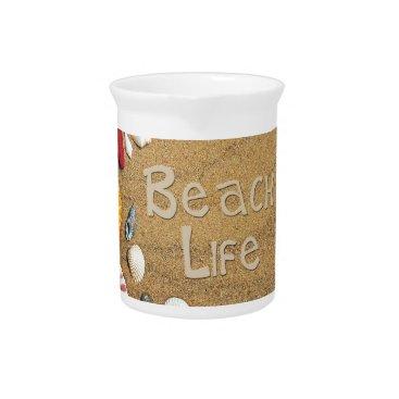 Beach Themed Beach Life Drink Pitcher