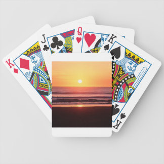 Beach Life Energy Bicycle Poker Cards