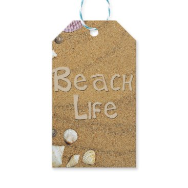 Beach Themed Beach Life Gift Tags