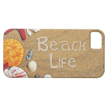 Beach Themed Beach Life iPhone SE/5/5s Case