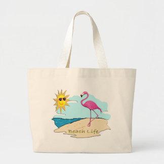Beach Life Large Tote Bag