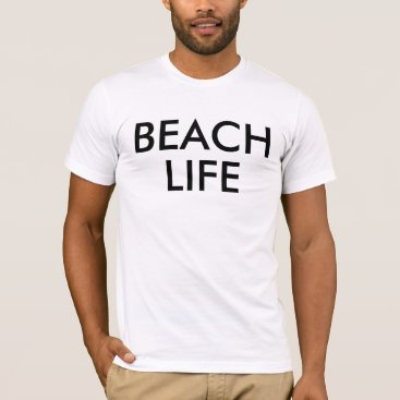 Beach Themed Beach Life Mens Tshirt